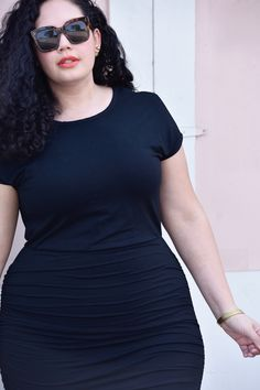 The Little Black Dress You Need for Summer via @GirlWithCurves