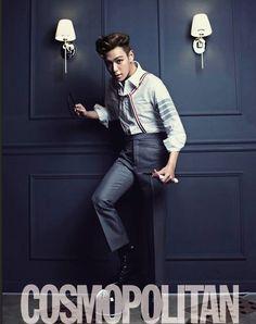 Big Bang's T.O.P becomes a suave gentleman for 'Cosmopolitan' #allkpop #kpop #bigbang