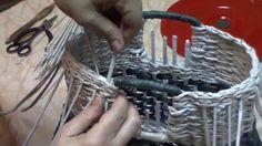 Cómo tejer un bolso de mano. Parte 6 .