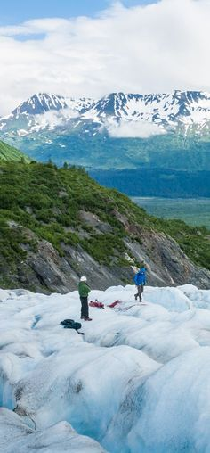 Seward, Alaska | Experience an Alaska of the imagination: a wild, isolated place where nature is on full display. Cruise with Royal Caribbean to Seward, Alaska and head to Resurrection Bay for kayaking and ice trekking expeditions that bring you face-to-face with the natural splendor of Alaska.