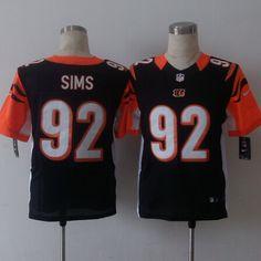 df261c92573 Cincinnati Bengals 92 Sims Orange 2015 Nike Elite Jersey