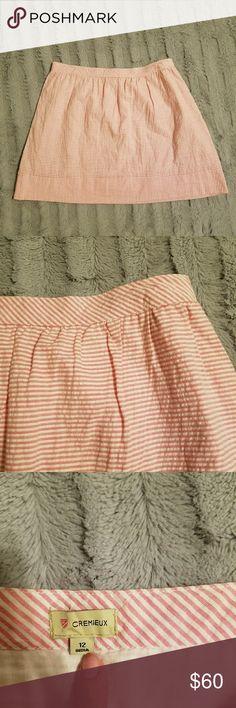 Cremieux seersucker skirt Excellent condition. Very very cute cremieux Skirts