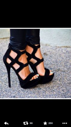 1963cc3f6c4b Black high heels fashion girl shoes black heels style high heels luxury  Shoes How to waterproof shoes -- I will do this if (when