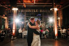 Wedding at Steam Whistle Brewery Roundhouse, photo by David McVicar. #toronto #wedding #torontowedding #steamwhistle #steamwhistleroundhouse
