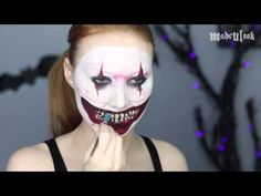 American Horror Story Freak Show Makeup Tutorial (Twisty) - YouTube