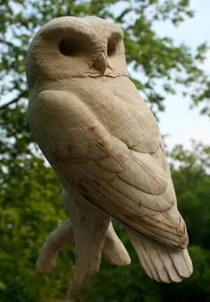 644 Best Bird Carvings Images In 2019 Birds Sculptures Owls