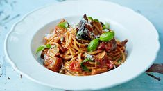 This is a beautifully simple, classic Sicilian pasta dish — it's incredibly satisfying, full of flavour and feels like a great big hug in a bowl. It also contains two of your five a day, and the...