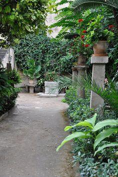 Gardens at the Arabic Baths - Mallorca, Spain