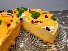 Takiego sernika jeszcze nie jedliście - Sernik o smaku mango - niezwykły i przepyszny #serniknazimno - YouTube