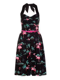 Palm Beach Prom Dress   Black And Multi   Dress