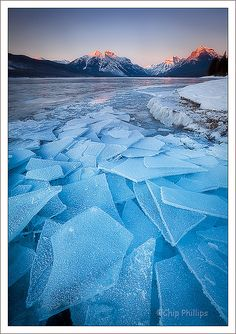 Lake McDonald Ice    This is from a trip to Glacier National Park last winter. It was 29 degrees below zero.
