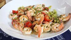 Easy to make homemade caesar Shrimp Tacos with guacamole and Tobasco sauce recipe. Lamb Recipes, Sauce Recipes, Cooking Recipes, Cooking Tips, Tobasco Sauce Recipe, Fish Dishes, Main Dishes, Marilyn Denis Show Recipes, Thai Fried Rice