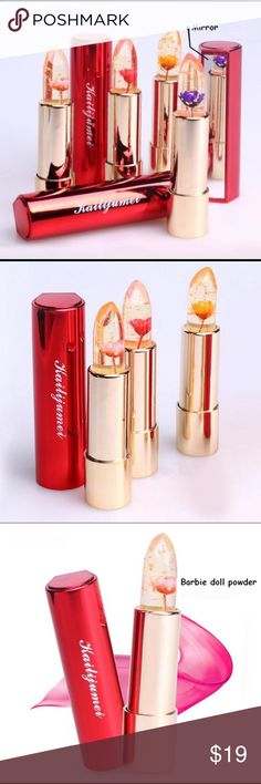 Original Kailijumei Flower Jelly Lipstick 100% Authentic NEW. Barbie Doll Powder Kailijumei Makeup Lipstick