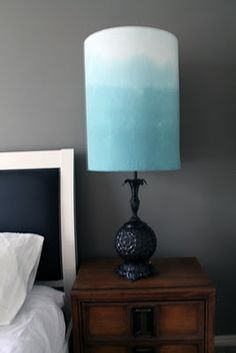 Make your own lampshades from scratch Oh my! These are so pretty.