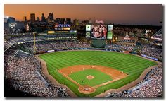 Turner Field in the evening....