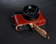 Panasonic LX100 Case LX100 leather cameras case by CamerasBagShop