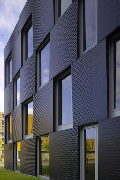 Projects - Wiel Arets Architects Architecture Office, Architecture Details, Modern Condo, Building Skin, Steel House, Skyscraper, Concrete, Projects, Wall