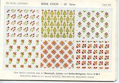 ristipistoja 035  bibliothek DMC Merk stich III. serie Editions TH. de Dillmont. S.á r. l. Mulhouse (Frankreich)
