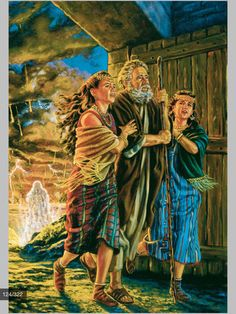 Lot and his daughters had faith enough to not look back -- JUST KEEP GOING once you find the Truth from God and his Son.