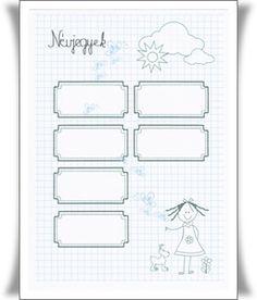 névjegyek2 - kislány Notebook, Bullet Journal, Exercise Book, The Notebook, Journals