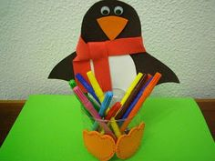 PENGUIN PENCIL HOLDER