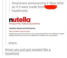 #man you just got roasted like a hazelnoot