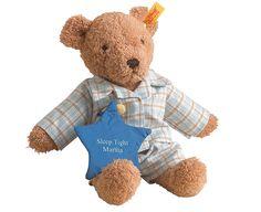Steiff Bedtime Bear, Plain  Steiff  http://www.comparestoreprices.co.uk/soft-toys/steiff-bedtime-bear-plain.asp