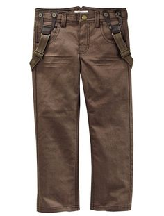 Boys' Trousers BEIGE MEDIUM ALL OVER PRINTED+BROWN LIGHT ALL OVER PRINTED