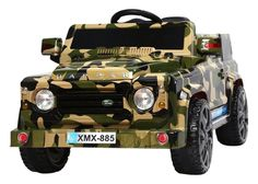 6V 50W Battery Powered Land Rover Style Twin Motor Electric Toy Car (Model: XMX885 ) CAMOUFLAGE