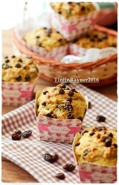 Banana Muffin Simple & Yummy