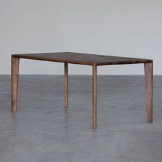 Dining table / contemporary / elm / maple HANNY Artisan Solid Wood Furniture