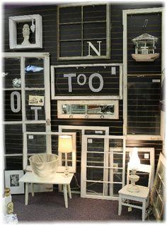 Vintage windows - all sizes. FUN!