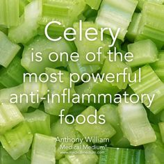 Celery is anti-inflamatory