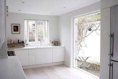 Te gustan las cocinas en color blanco? Aquí una opción increíble!