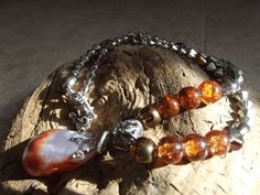 Lake Superior agate pendant and hand made by CallyHandcrafted, $25.00