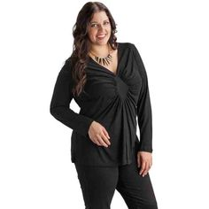 PRE-ORDER - Ruched Diamond Top (BLACK) $49.50 http://www.curvyclothing.com.au/index.php?route=product/product&path=95_104&product_id=6863