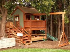 Check out these 20 Jolly Good Ideas of Luxurious Outdoor Playhouse and get inspired now!