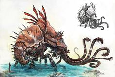 Water Colossus by ~evil-santa on deviantART