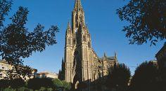 La cathédrale Buen Pastor vue de l'extérieur. Donostia – Saint-Sébastien ©Turespaña