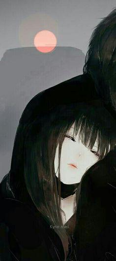 Kawaii Anime Girl, Anime Art Girl, Manga Art, Manga Anime, Anime Boys, Couples Comics, Anime Couples, Cute Couples, Floral Wallpaper Iphone
