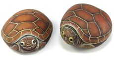 Rock Painting Instructions | Rock Painting tutorials.Lessons in e-packets.Free instructions.