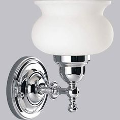 $63 P3395 15: Lawford Polished Chrome One Light Bath Fixture Progress Lighting 1 Light Bathro