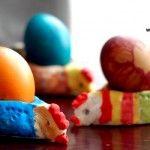 Salzteig Eierbecher