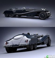 I don't know what it is but I want it ( (btw it's apparently the Hydra Car from Captain America)
