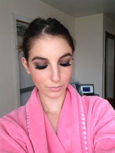 brown smoky eye tutorial