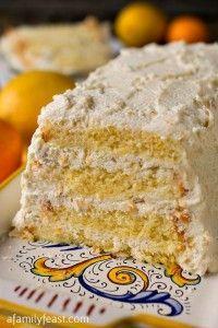 Cassata Ricotta (Sponge Cake with Ricotta) - A Family Feast