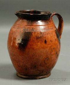 Redware Jug | Sale Number 2412, Lot Number 84 | Skinner Auctioneers
