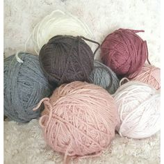 Love these colors!!! Leftovers of other projects ready to be a new  project!!  #instagram #craft #knitstagram #girly #girlythings #scrap #beautiful #knitblanket #yarnball #knit #yarnaddict #hobbies #yarn #hobby #pink #crochetersofinstagram #perfect #knittersofinstagram #softyarn #gray #knitting #soft #crochet by creating.with.love
