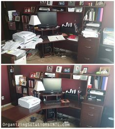 Home Office Organization - Are you over whelmed?  http://organizingsolutionsintl.com/organizing-paperwork-home-office/
