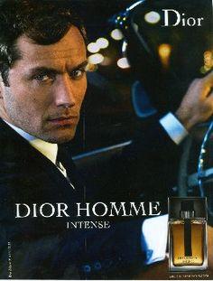 Dior Homme Intense by Christian Dior with Jude Law (2010).http://www.lhommetendance.fr/parfum-homme-dior-intense/